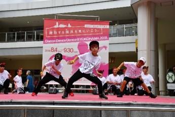 「横浜ダンスパラダイス」オールジャンルのダンスイベント!出演者募集4/1から!