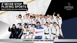 「#スポーツを止めるな」ローレウス・スポーティング・モーメント部門にノミネート!