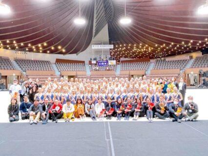 東京女子体育大学新体操部公式サイト4/1スタート!開かれた新体操界を目指しグリーンカードがサポート!